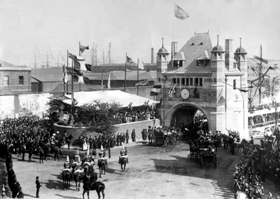 The Opening of Blackwell Tunnel, 1897
