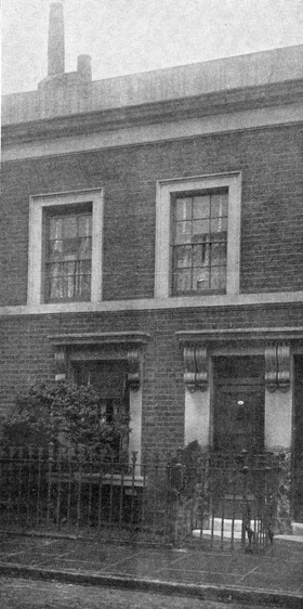 Crook's house in Gough Street, c1904