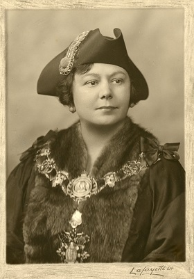 First Woman Mayor of Bethnal Green