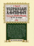 Map of  Victorian London