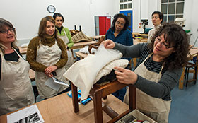 upholstery class