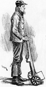 Dock worker from The Illustrated London News, February 9th 1889