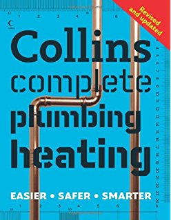 Book cover of 'Collins Complete Plumbing and Heating'.