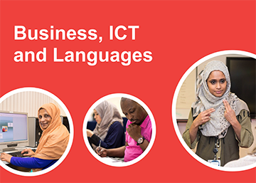 business, ICT and languages