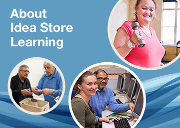 Information about Idea Store Leaning graphic