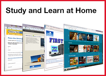 study and learn at home